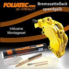 FOLIATEC BREMSSATTEL LACK SPEED GELB 2161 + BREMSSATTEL MONTAGE SET