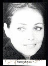 Ingeborg Schöner  Autogrammkarte Original Signiert TOP## BC 516