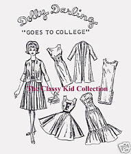 Vintage for Barbie Goes to College Fashion Patterns