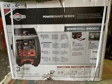 Briggs & Stratton P3000 PowerSmart Series 3000 Watt Inverter Generator 2600 Watt