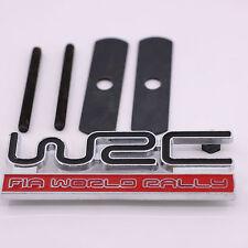 Front Grill Grille Badge Emblem 3D WRC Logo Metal Car Tuning Auto For Subaru