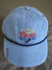 Coors CHUTE OUT ProRodeo Baseball Ball Cap Jeans NWT