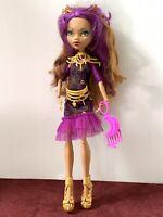 Monster High Doll CLAWDEEN WOLF WEREWOLF FRIGHTS CAMERA ACTION HAUNTLYWOOD