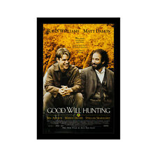 Good Will Hunting - 11x17 Framed Movie Poster by Wallspace