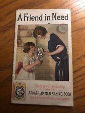 Vintage Advertising Brochure Arm & Hammer, Dwight & Church, 1924, Ephemera