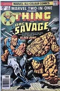 Marvel Two-In-One Vol 1 #21 (1976) The Thing and Doc Savage