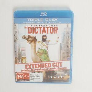 The Dictator Bluray Movie - Free Postage Blu-ray Comedy Sacha Baron Cohen