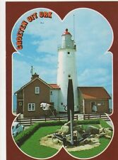 Urk Vuurtoren Netherlands Lighthouse Postcard 327a ^
