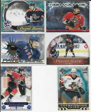 6 CARD PACIFIC INSERT LOT PAVEL BURE PANTHERS - RANGERS #1