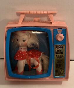 1966 Remco Pussy Meow Toy TV Jones Companion #4060 HTF
