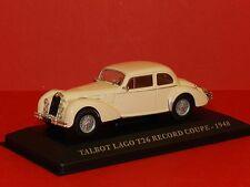 Altaya Models 1/43 Talbot Lago T26 Record Coupe - 1948 White MiB