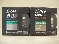 Dove Men Care Grooming Cream Low Hold Natural Finish Lot of 2 NIB