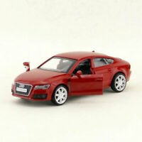 1:43 Audi A7 Sportback Model Car Alloy Diecast Toy Vehicle Pull Back Red Gift