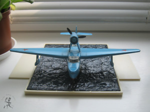 WWII scale plane model custom diorama marine scout vintage USSR metal water