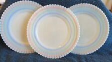MacBeth-Evans Petalware Cremax Banded Pastel 8 Inch Salad Plate