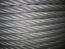 FUNE ACCIAIO ZINCATO COMMERCIALE diametro 12 mm. in matassa da 100 mt.