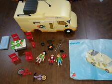 Playmobil 3647 Family Camper / Van not complete but Nice