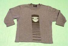 Sweatshirt * Grauer Pulover gr. 104 *