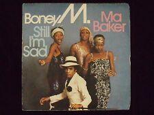 BONEY M.: STILL I'M SAD; MA BAKER, Durium Marche Estere, DE 2931, 1977