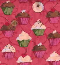 Cupcakes Martha Nagley Rowan kitchen food fabric