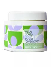 ORLA KIELY SAGE LAVENDER BODY SCRUB (200ml) ~ New Fresh Stock ~ **AUTHENTIC**