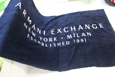 Genuine AX Armani Exchange 100% Absorbent Cotton Sports Athletic Towel Blanket