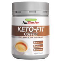 FatBlaster Keto-Fit Coffee 85g Powder Fat Burning Caffeine High in MCTs