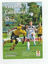 Orig.PRG   Europa League  2011/12   GAZ METAN MEDIAS - KUOPION PS  !!  SELTEN