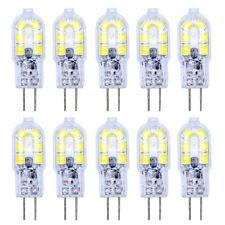 10er G4 LED Lampe 2W AC/DC 12V Kaltweiß 3000K 12x2835 SMD Mit PC Mantel