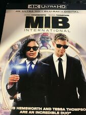 Men in Black: International (4K Ultra Hd, Blu-ray, No Slipcover, Digital) 2019