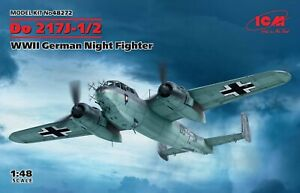 ICM 48272 WWII German Dornier Night Fighter Do 217J-1/2 1/48