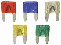 Emergency ATM Mini Blade Type Fuse Assortment For Automotive 10 15 20 25 30 AMP