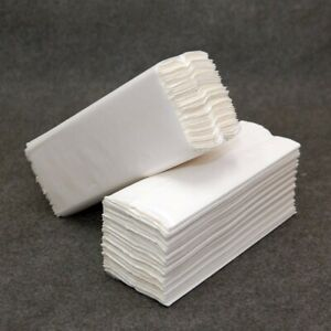 WHITE / Blue /Green Paper Hand Towels C tissues Multi Fold Premium Quality PACK
