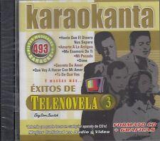 Pedro Fernandez Chayanne Aranza OV7 De Telenovela 3 Karaoke Nuevo sealed