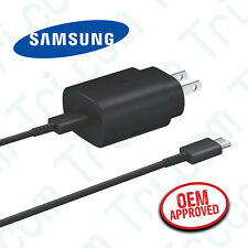 Original Samsung Galaxy Note 20 5G Ultra 25W USB-C Fast Charger & Type C Cable