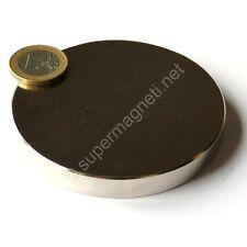 Super Magnete Disco in Neodimio diam. 80x10 mm Potenza 300 Kg Acqua Magnetizzata