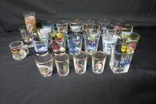 Shot Glass 26 Pc. Lot Vintage US City States, Euorpe, Points of Interest