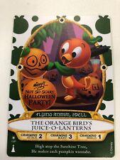 Disney Sorcerer Of The Magic Kingdom Party Card Halloween 2018 Orange Bird