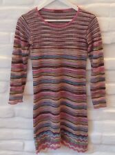 Authentic Missoni Mädchen Dress Multicolor Wool Gr.14A Made in Italy!