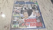 NEW ENGLAND PATRIOTS-TOM BRADY- LORD OF THE RINGS-BOSTON SPORTS REVIEW-FEB.2005