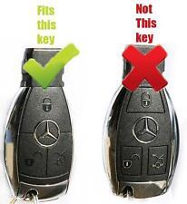 Golgold Khanda Sikh MERCEDES W164 SL 500 R230 W211 W212 W207 CARBONIO ADESIVO chiave.