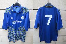 Maillot LEEDS shirt CANTONA 7 vintage 1992 ADMIRAL jersey trikot maglia 42/44 L