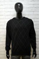 Marlboro Classics Maglione Taglia XL Uomo Pullover Felpa Cardigan Lana Sweater