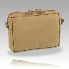 OAS Range – Coyote Brown (498) Small Horizontal Utility Pouch - Made in GB