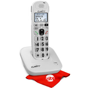 Clarity D702 Hearing Loss Phone W Circuit City Microfiber Cleaning Cloth