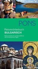 PONS Reisewörterbuch Bulgarisch von Valentina Aleksieva (2004, Taschenbuch)