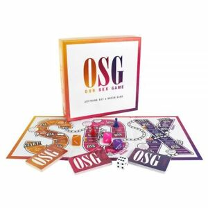 OSG Our Sex Game Couples Board Game Gender Neutral Lovers LGBTQ Anniversary Gift