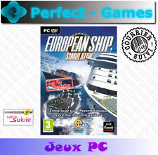 EUROPEAN SHIP SIMULATOR PC DVD Games jeux PC neuf new sous blister