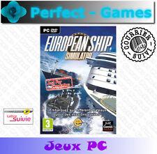 EUROPEAN SHIP SIMULATOR PC DVD Games jeux PC neuf new sous blister