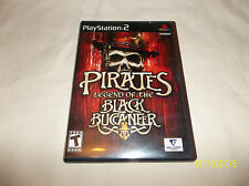 Pirates: Legend of the Black Buccaneer (Sony PlayStation 2, 2006)(Complete)